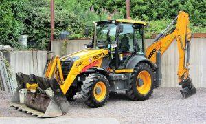 Rubber Tyre Digger & Excavator